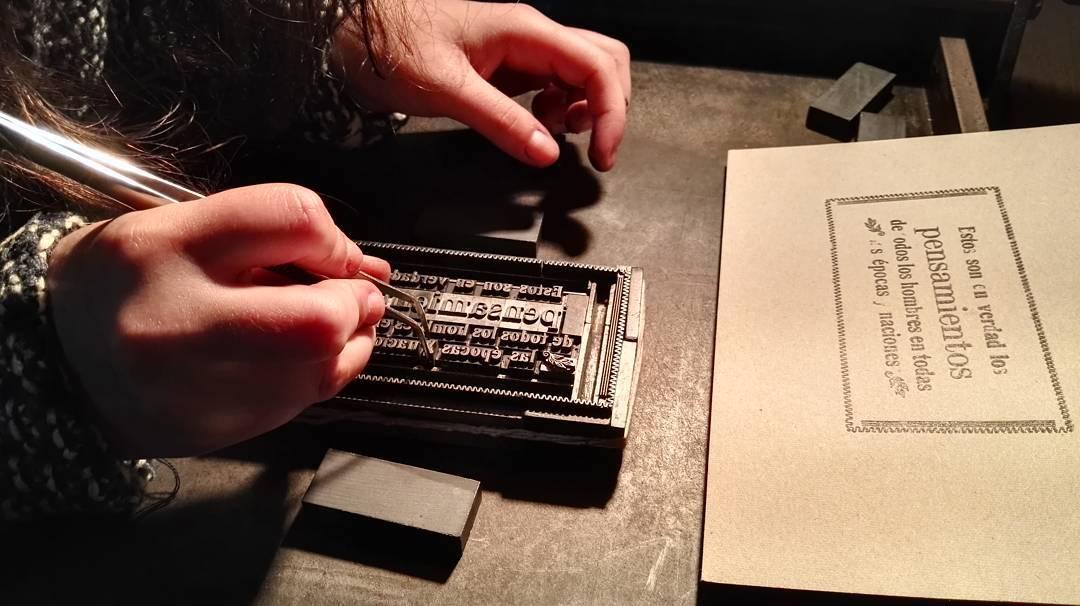 Seguimos... Tercer encuentro del Taller de experimentación tipográfica