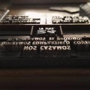 Las matrices tipográficas tienen ese encanto difícil de explicar
