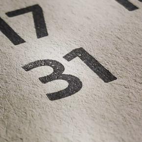 31 / 01 Texturas del último día de Enero… Madera, tinta y papel Tipografía Trasandina @ferfolio