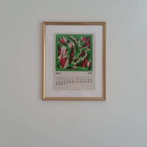 Felices de ver el calendario por la tierra de los tulipanes. Una amiga nos envía una foto desde la ciudad de  Utrecht en los Países Bajos