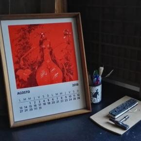 Chau Julio, hola Agosto ! Ilustración Alvaro Amengual @a.amengual