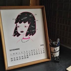 Hola Setiembre !! Ilustración @_nenarosa  Y ya estamos trabajando en la edición 2019