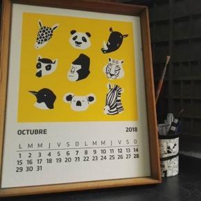 Hola Octubre!! Hermosa ilustración de @luisa_sabatini para acompañarnos a recorrer el décimo mes del año
