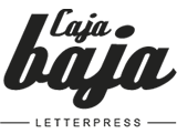 Caja Baja – Tipografía y Obra gráfica – Letterpress