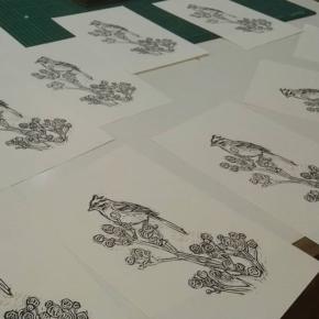 Hoy el taller se llenó de chingolos 🐦 Se viene un lindo proyecto