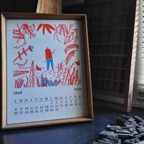 Este año viene pasando muy rápido 🏃🏃 Hace tres días que llegó ABRIL y nosotros aún sin cambiar de lámina en el calendario … 🙄  Ilustración  @matosledge